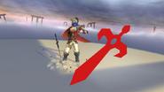 Pose de victoria de Ike (2-1) SSB4 (Wii U)