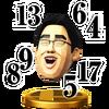 Trofeo de Dr. Kawashima SSB4 (Wii U)