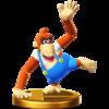 Trofeo de Lanky Kong SSB4 (Wii U)