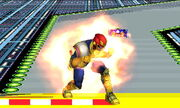 Burla superior Capitán Falcon SSB4 (3DS)