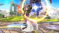 Lanzamiento hacia arriba (1) Zelda SSB4 Wii U