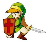 Pegatina de Link (The Legend of Zelda) SSBB