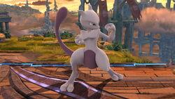 Pose de espera 1 Mewtwo (2) SSB4 (Wii U)