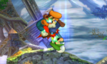 Supersalto enterrador SSB4 (3DS)