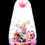 Trofeo de Flor de melocotón SSB4 (Wii U)