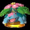 Trofeo de Mega-Venusaur SSB4 (3DS)