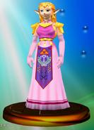 Trofeo de Princesa Zelda SSBM
