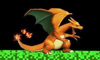 Agarre de Charizard SSB4 (3DS)