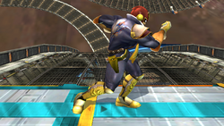 Agarre normal Captain Falcon SSBB (1)