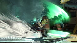 Ataque Smash lateral Cloud (3) SSB4 (Wii U)