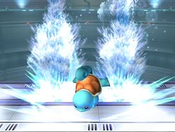Ataque Smash superior Squirtle SSBB