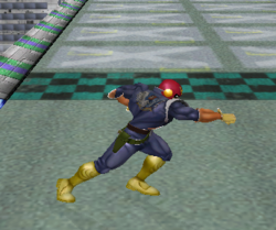 Ataque normal de Captain Falcon (2) SSBM