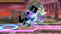 Mr Game y Watch Ataque Superior-SSBB