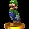 Trofeo de Luigi SSB4 (3DS)