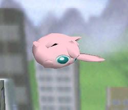 Ataque aéreo normal de Jigglypuff SSB