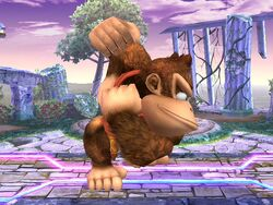 Ataque normal Donkey Kong SSBB (1)