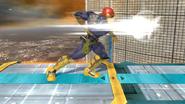 Ataque normal de Captain Falcon (2) SSB4 (Wii U)