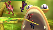 Créditos Modo Leyendas de la lucha Greninja SSB4 (3DS)
