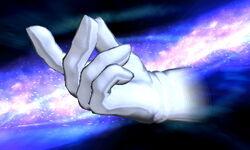 Master Hand Chasqueo de dedos (1) SSB4 (3DS)