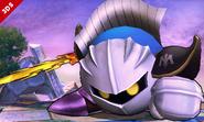 Meta Knight en el Campo de batalla SSB4 (3DS)