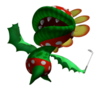 Pegatina de Floro Piraña Mario Golf Toadstool Tour SSBB