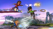 Projectiles de los Espadachines Mii SSB4 (Wii U)