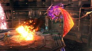 Ridley Triple bola de fuego (1) SSB4 (Wii U)