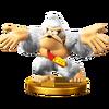 Trofeo de Donkey Kong (alt.) SSB4 (Wii U)