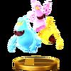 Trofeo de Fantasmas (Luigi's Mansion) SSB4 (Wii U)