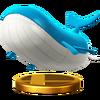 Trofeo de Wailord SSB4 (Wii U)