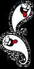 Artwork del Fantasma burlón en Rhythm Heaven Megamix