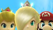 Créditos Modo Leyendas de la lucha Estela y Destello SSB4 (Wii U)