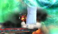 Crazy Hand Puñetazos Explosivos SSB4 (3DS)