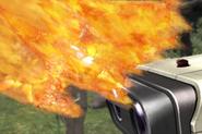 Gancho de fuego en el emisario SSBB