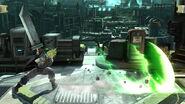 Haz espada en tierra Cloud (2) SSB4 (Wii U)