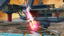 Patada furiosa (2) SSB4 (Wii U)