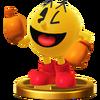Trofeo de PAC-MAN SSB4 (Wii U)
