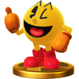 Lista de trofeos de SSB4 Wii U (PAC-MAN)