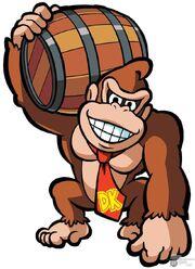 Art Oficial Donkey Kong en Mario vs Donkey Kong