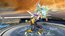 Lanzamiento superior Captain Falcon SSBB