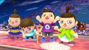 Nuevos colores del Aldeano SSB4 (Wii U)