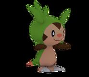 Pose T Chespin SSB4 (Wii U)
