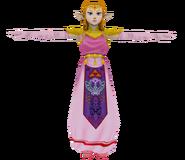 Pose T Zelda SSBM
