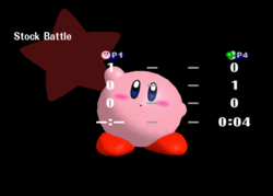 Pose de victoria Kirby Y (4) SSBM
