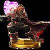 Trofeo de Ganondorf (alt.) SSB4 (Wii U)