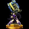 Trofeo de Pit Sombrío (alt.) SSB4 (Wii U)
