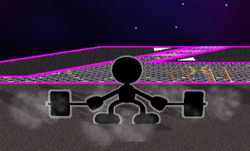 Ataque Smash hacia abajo Mr. Game & Watch (2) SSBM