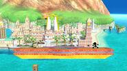 Ciudad Delfino (Versión Omega) SSB4 (Wii U)
