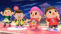 Confirmación de los trajes alternativos del Aldeano - SSB. for Wii U