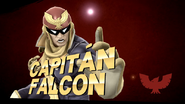 Pose de victoria de Captain Falcon (3-2) SSB4 (Wii U)